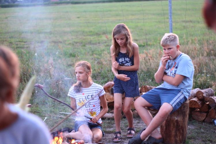 wakacje-na-wsi-ognisko